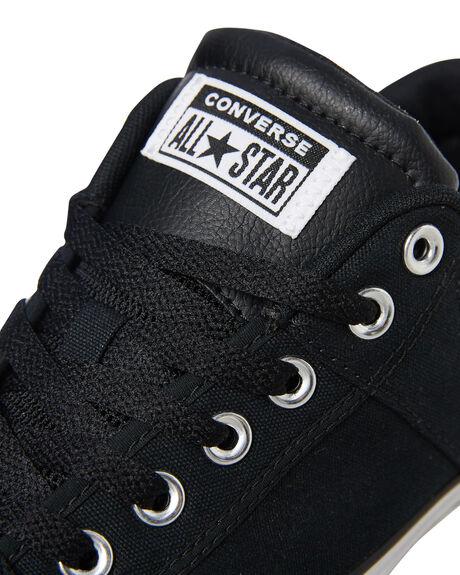 BLACK MENS FOOTWEAR CONVERSE SNEAKERS - 166963CBLK