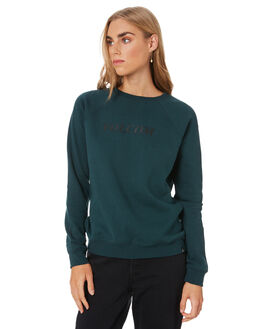 EMERALD GREEN WOMENS CLOTHING VOLCOM JUMPERS - B4612075EMG