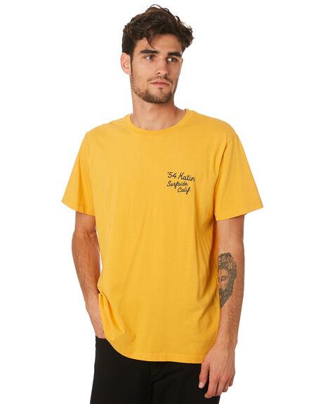 GOLD MENS CLOTHING KATIN TEES - TSSUR04GLDBL