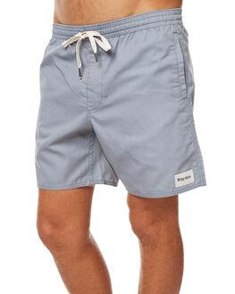 DUSTY STEEL MENS CLOTHING RHYTHM BOARDSHORTS - JUL17-JAM02-STE