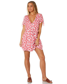 FLAME WOMENS CLOTHING RUSTY DRESSES - DRL0981FAM