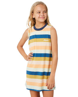DARK BLUE KIDS GIRLS RIP CURL DRESSES + PLAYSUITS - JDRAB93155