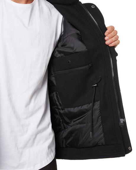 BLACK MENS CLOTHING ST GOLIATH JACKETS - 4371034BLK