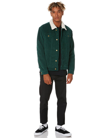 OLIVE MENS CLOTHING SWELL JACKETS - S5174389OLIVE