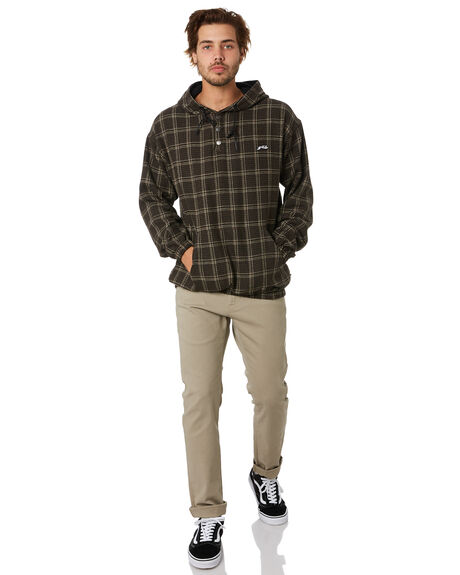 DARK COFFEE OUTLET MENS RUSTY JUMPERS - FTM0927DCF