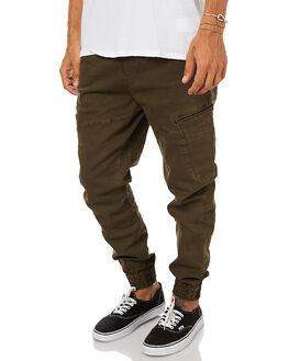 DIGGER GREEN MENS CLOTHING GLOBE PANTS - GB01736010DIGRN
