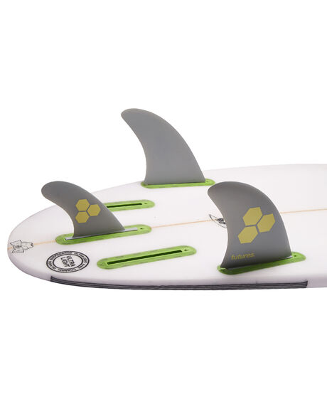 GREY BEIGE BOARDSPORTS SURF FUTURE FINS FINS - AMT-010309GBEI