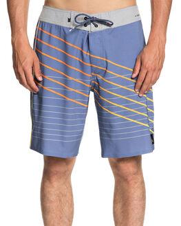 BIJOU BLUE MENS CLOTHING QUIKSILVER BOARDSHORTS - EQYBS04013BNG6