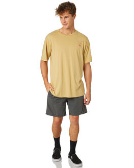 HERITAGE YELLOW MENS CLOTHING THRILLS TEES - TR8-108KHTYEL