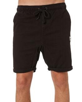 BLACK MENS CLOTHING RUSTY SHORTS - WKM0758BLK