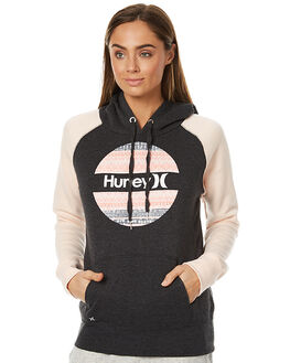 PALE BLUSH WOMENS CLOTHING HURLEY JUMPERS - AGFLKR17PBUS
