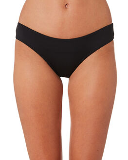 BLACK WOMENS SWIMWEAR SEA LEVEL BY NIPTUCK BIKINI BOTTOMS - SL4009PBLK