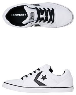 WHITE MENS FOOTWEAR CONVERSE SNEAKERS - 155066CWHT