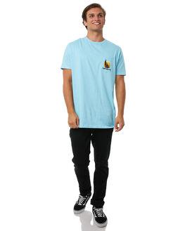 SKY MENS CLOTHING CAPTAIN FIN CO. TEES - CT181050SKY