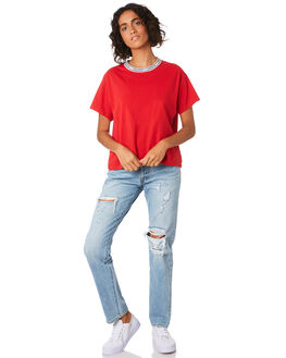 LOSE THE EDGE WOMENS CLOTHING LEVI'S JEANS - 12501-0308LOSE