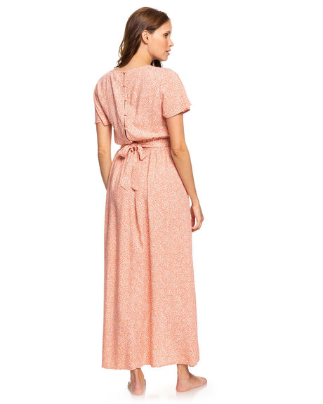 TERRA COTTA CHAOS WOMENS CLOTHING ROXY DRESSES - ERJWD03424-MJN5