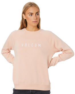 APRICOT WOMENS CLOTHING VOLCOM JUMPERS - B4612075APC