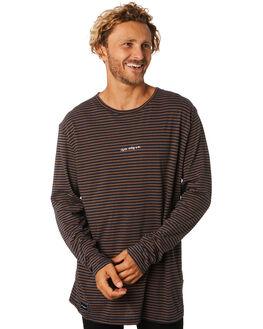 NAVY STRIPE MENS CLOTHING RPM TEES - 9AMT07BNVYST