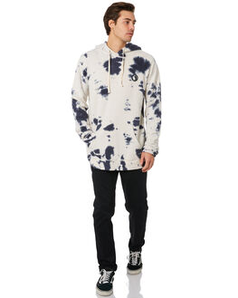 NAVY TIE DYE MENS CLOTHING TOWN AND COUNTRY JUMPERS - TFT313NVYTD