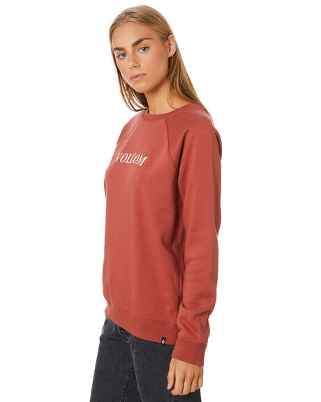 TERRACOTTA WOMENS CLOTHING VOLCOM JUMPERS - B4612075-TERRA