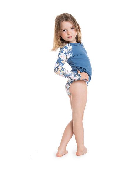 MOONLIGHT BLUE KIDS GIRLS ROXY SWIMWEAR - ERLWR03179-BMP6