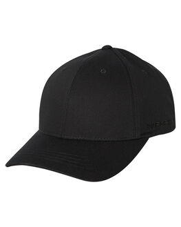 BLACK MENS ACCESSORIES FLEX FIT HEADWEAR - 172152-BLK