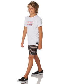 WHITE KIDS BOYS ST GOLIATH TOPS - 2420005WHT
