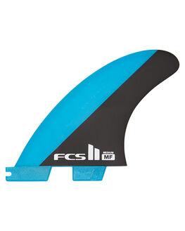 BLUE BLACK SURF HARDWARE FCS FINS - FMFM-PC02-MD-TS-RBLB
