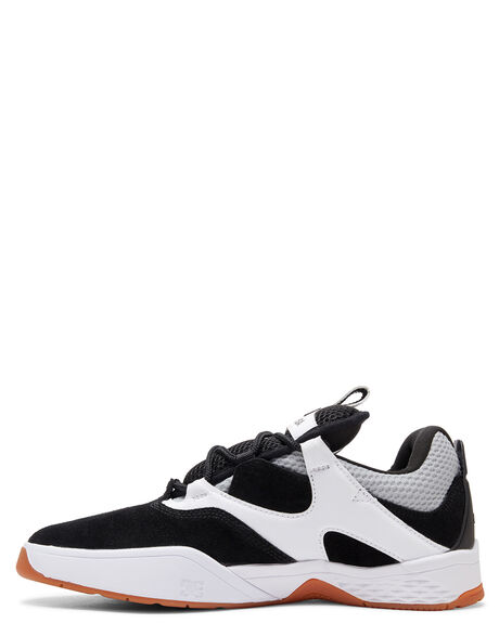 BLACK/GREY/WHITE MENS FOOTWEAR DC SHOES SNEAKERS - ADYS100506-XKSW