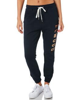 NAVY GOLD WOMENS CLOTHING ELWOOD PANTS - W81601NVYG