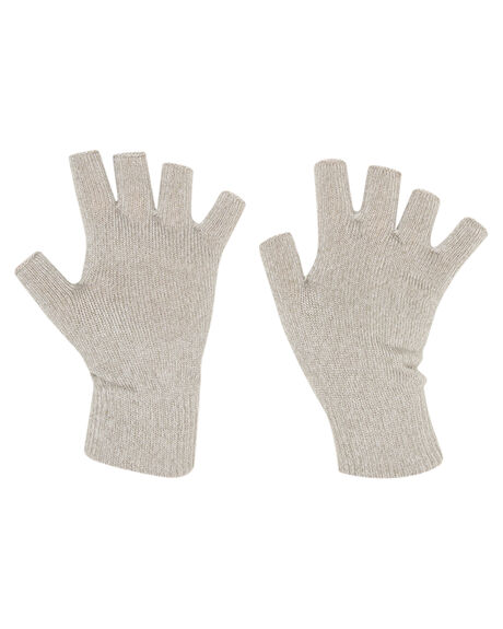 LIGHT GREY MARLE MENS ACCESSORIES RUSTY SCARVES + GLOVES - MAM0096LGM