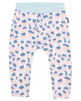 LEOPARD BLUE KIDS BABY BONDS CLOTHING - BXW4ALEO