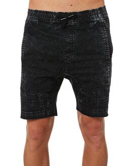 BLACK ACID MENS CLOTHING ZANEROBE SHORTS - 613-MAKBLKAC