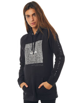 BLACK WOMENS CLOTHING HURLEY JUMPERS - AGFLSTICY00A