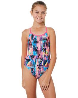 PINK MULTI KIDS GIRLS ZOGGS SWIMWEAR - 5057184PNKML