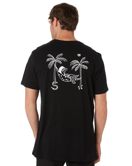 BLACK OUTLET MENS SWELL TEES - S52011026BLACK