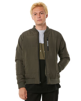 KHAKI MENS CLOTHING HUFFER JACKETS - MJA81S1173KHKI