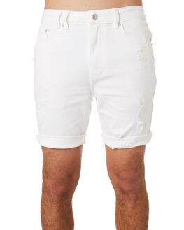 NEW ECRU TRASHED MENS CLOTHING INSIGHT SHORTS - 5000004615NCRU