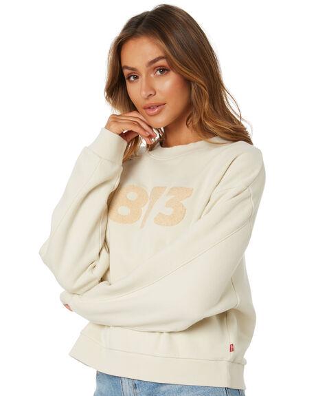 ALMOND MILK WOMENS CLOTHING LEVI'S JUMPERS - 85283-0017AMILK