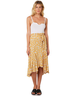 FORGET ME NOT PRINT WOMENS CLOTHING SASS SKIRTS - 13354SWSSFOR