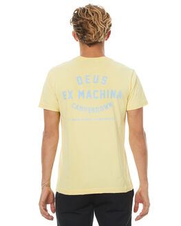 FADED YELLOW MENS CLOTHING DEUS EX MACHINA TEES - DMF71462EFYLW