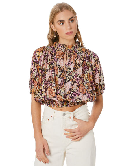 LONDON FLORAL WOMENS CLOTHING MLM LABEL FASHION TOPS - MLM750CLFLR