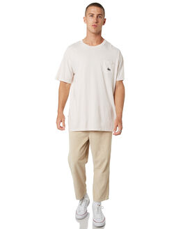 WHITE SAND MENS CLOTHING STUSSY TEES - ST082001WHTSD