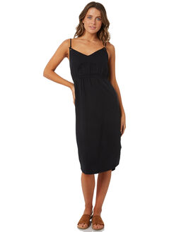 BLACK WOMENS CLOTHING BILLABONG DRESSES - 6572489BLACK