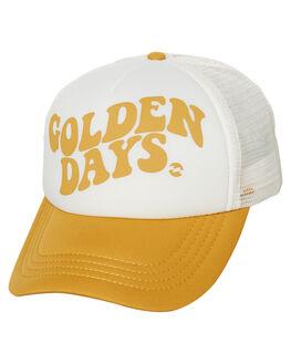 HONEY GOLD WOMENS ACCESSORIES BILLABONG HEADWEAR - 6685311AHNYGD