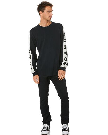 TRUE BLACK MENS CLOTHING BURTON TEES - 21764100001