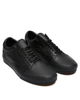 BLACK BLACK WOMENS FOOTWEAR VANS SNEAKERS - SSVN-03Z6L3ABLKW