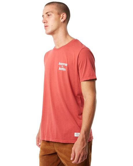 LIGHTHOUSE RED MENS CLOTHING KATIN TEES - TSKBL00LRED