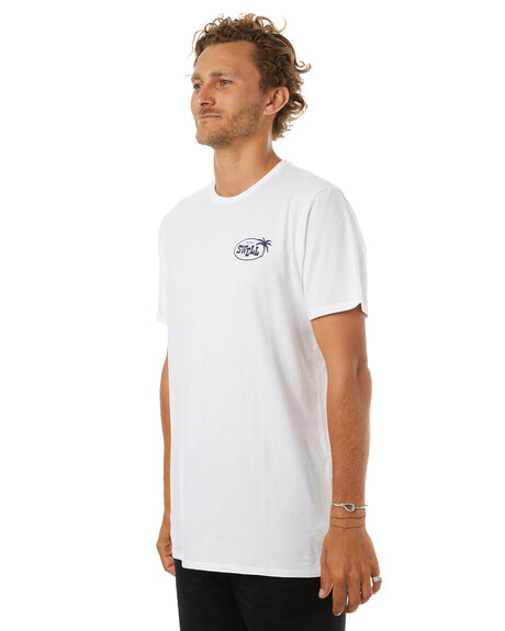 WHITE MENS CLOTHING SWELL TEES - S5171005WHITE