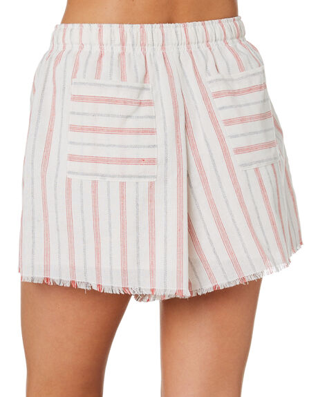STRIPE OUTLET WOMENS NUDE LUCY SHORTS - NU23791STRP